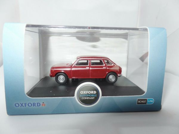 Oxford 76MX002 MX002 1/76 OO Scale BLMC Austin Maxi 1750TC Damask Red